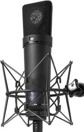 Neumann U87 Ai MT Studio Set with Shockmount (Black)