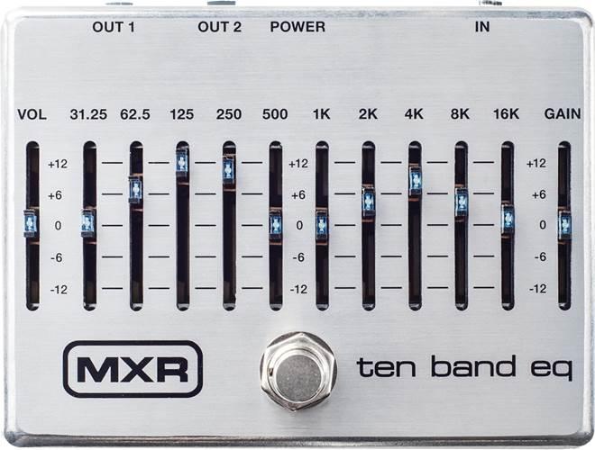 MXR M108S 10 Band Eq Silver