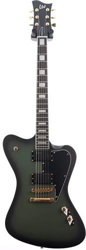 ESP LTD Sparrowhawk Military Green Sunburst Satin (Ex-Demo) #W17090163