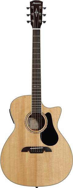 Alvarez Artist Series AG60CE Grand Auditorium Cutaway Natural