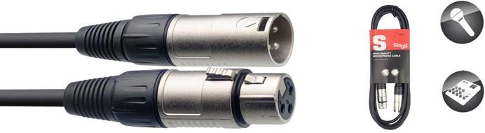 Stagg SMC3 3M XLR-XLR