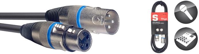 Stagg SMC10 10M XLR-XLR