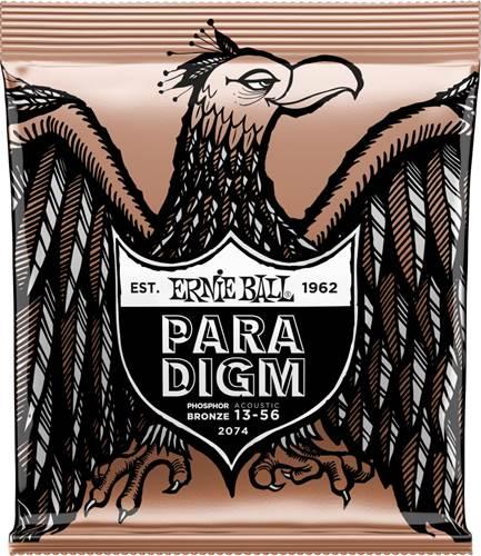 Ernie Ball P02074 Paradigm Acoustic Phosphor Bronze Medium 13-56