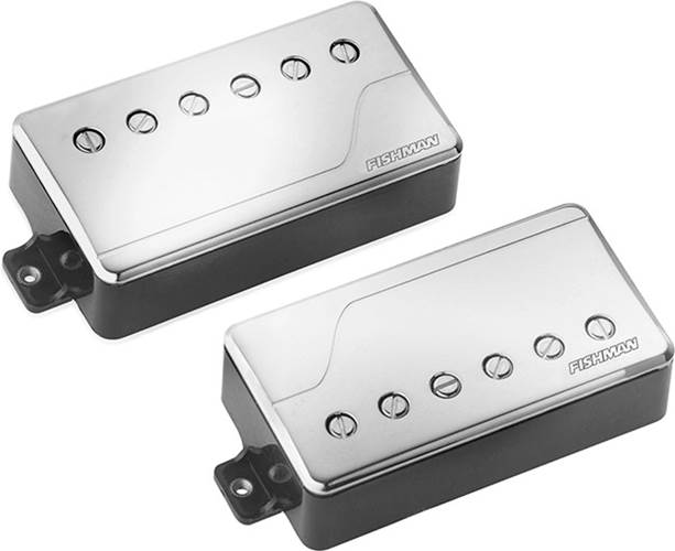 Fishman Fluence Multi Voice Pick Up - Classic Humbucker Set- Nickel