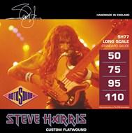 Rotosound SH77 Steve Harris Monel Flatwound Bass Strings 50-110