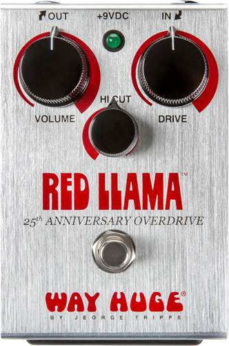 Way Huge Red Llama 25th Anniversary Edition Overdrive