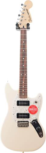 Fender Offset Mustang 90 Olympic White PF (Ex-Demo) #MX19086818