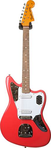 Fender Classic 60's Jaguar Lacquer PF Fiesta Red (Ex-Demo) #MX18118875