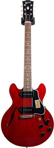 Gibson Custom Shop CS-336 Mahogany Cherry Walnut Wrap Tail Nickel Bridge #CS702163