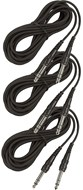 Whirlwind Triple Pack of STL20 - 6m TRS-TRS Balanced/Stereo Cables