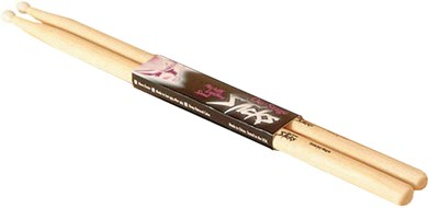 On Stage Drum Fire HN7A 7A Hickory Drum Sticks Nylon Tip