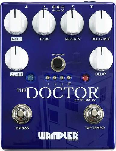Wampler The Doctor Lo-Fi Delay Pedal
