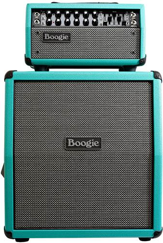 Mesa Boogie Custom Mark Five 25 with Mini Rec 112 Cab Teal Bronco - Grey and Black Grill