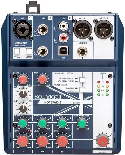 Soundcraft Notepad 5 Mixer