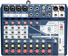 Soundcraft Notepad 12FX Mixer