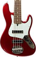Lakland Skyline J Sonic 5 String Candy Apple Red