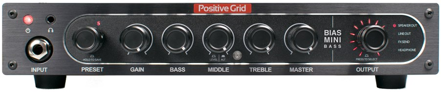 Positive Grid BIAS MINI Bass 300W Powered