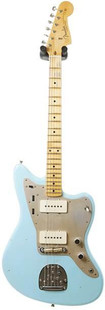 Fender Custom Shop Journeyman Relic 50'S Jazzmaster Faded Daphne Blue #CZ534439