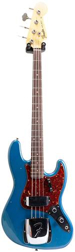 Fender Custom Shop Journeyman Relic 1960 Jazz Bass Faded/Aged Lake Placid Blue #CZ534179