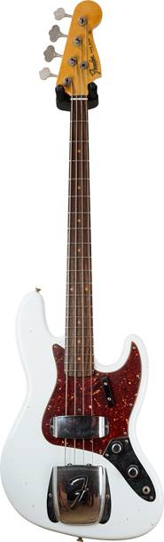 Fender Custom Shop Journeyman Relic 1960 Jazz Bass Aged Olympic White #CZ532359