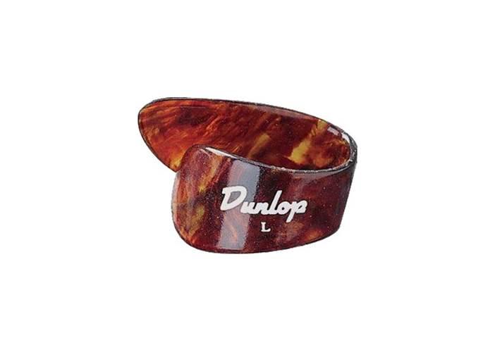 Dunlop Shell Plastic 3 Finger & Thumb Large - 4 Plectrum