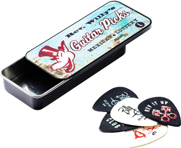 Dunlop Pick Tin - Rev Willy - Light