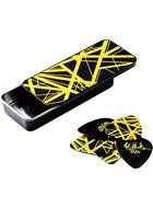 Dunlop EVHPT04 Black & Yellow Frankenstein Pick Tin