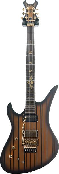 Schecter Synyster Gates Custom S with USA p/u Satin Gold Burst LH (Ex-Demo) #w18011282