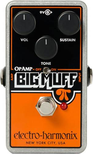 Electro Harmonix Op Amp Big Muff Pi Fuzz