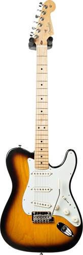 Fender 2018 Limited Strat Tele Hybrid 2 Tone Sunburst MN #US17079919