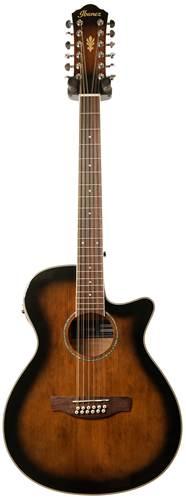 Ibanez AEG1812II-DVS 12 String Dark Violin Sunburst