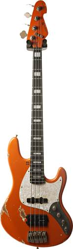 Sandberg California TM4 Medium Scale Hardcore Aged Metallic Orange w/ Block Inlays #31559
