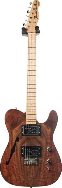 Fender Custom Shop Custom Walnut Thinline Tele Master Built by Dennis Galuszka #CZ536032