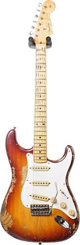 Fender Custom Shop Master Built by Jason Smith 57 Strat Heavy Relic Tobacco Sunburst #R95476