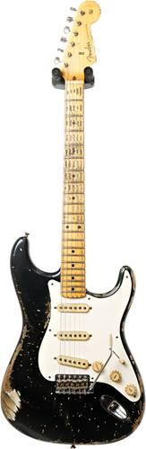 Fender Custom Shop Master Built by Jason Smith 57 Strat Heavy Relic Black #R95434