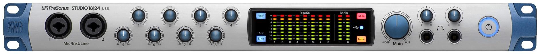 Presonus Studio 1824 USB Audio Interface
