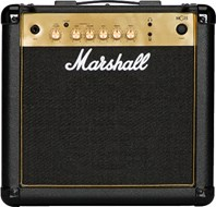 Marshall MG15G 15 Watt Guitar Combo Black and Gold