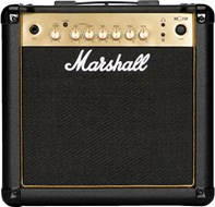 Marshall MG15GR 15 Watt Guitar Combo Black and Gold
