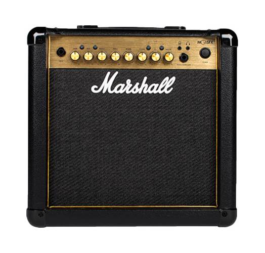 Marshall MG15GFX 15 Watt Guitar Combo Black and Gold