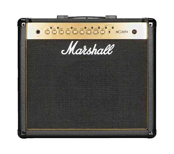 Marshall MG101GFX 100 Watt Guitar Combo Black and Gold