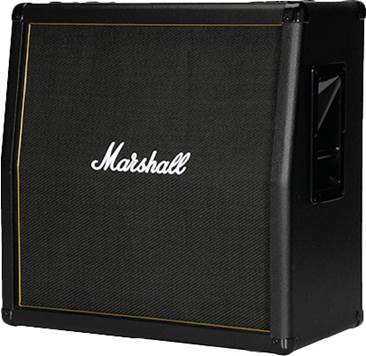 Marshall MG412AG 120 Watt Guitar Cab Black and Gold