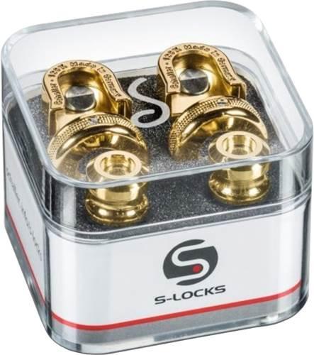 Schaller S-Lock Gold Strap Locks