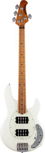 Music Man StingRay Special HH Ivory White Roasted Maple/Maple Mint