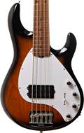 Music Man StingRay5 Special Vintage Tobacco Roasted Maple/Maple White