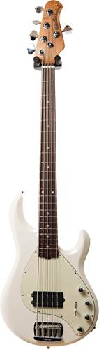 Music Man StingRay5 Special Ivory White Roasted Maple/Rosewood Mint