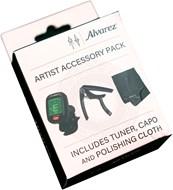 Alvarez Tuner, Capo and Polish Cloth Accessory Pack
