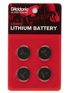 Planet Waves PW-CR2032-04 CR2032 Lithium Battery, 4-pack