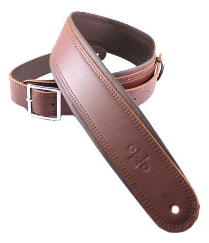 DSL GEB25-16-2 Maroon with Brown Backing and Buckle