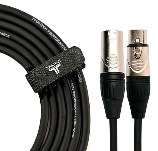 TOURTECH TTMC-N3R 10ft/3m Microphone Cable