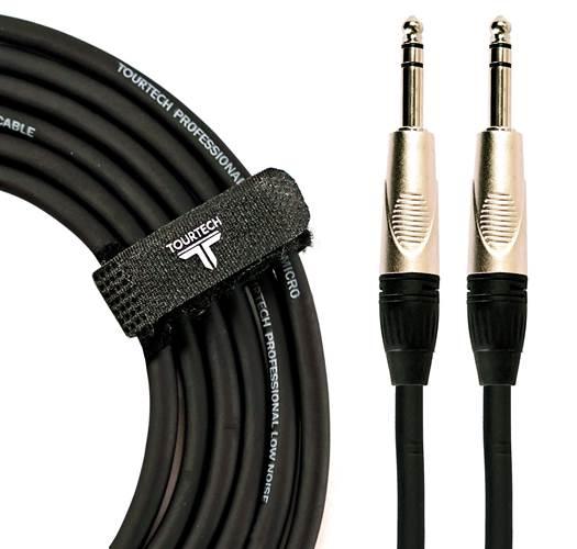TOURTECH TTAC-1PSDL 3ft/1m Stereo Jack - Jack Cable